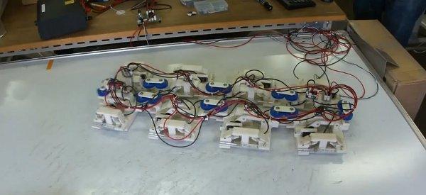 Toro II : Un robot qui se déplace sur le modèle animal de l'escargot