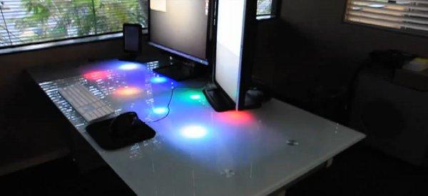 DIY : Éclairer son bureau avec des LED pour notifier la réception d'emails