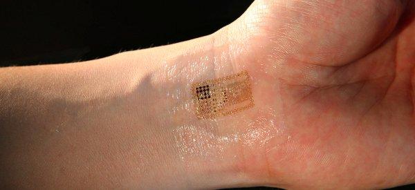 Innovation : Les circuits électroniques bientôt intégrés à votre peau.