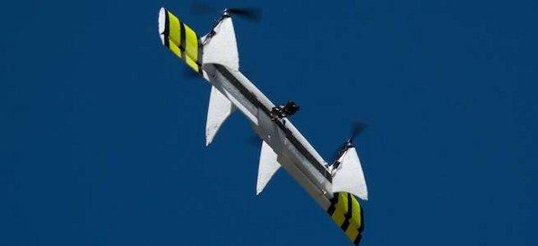 Quadshot : Un nouveau drone télécommandé entre avion et hélicoptère