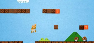 Video : Le premier niveau de Super Mario Bros en version Stop Motion