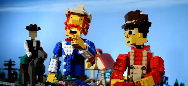 Video : Un clip country en stop-motion avec des cow-boys en LEGO