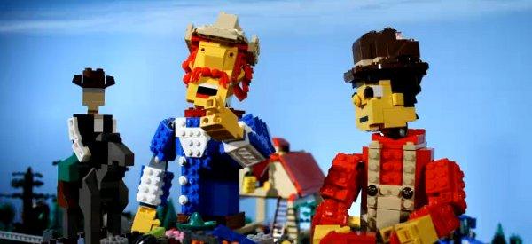 Video : Un clip country en stop-motion avec des cow-boys en LEGO
