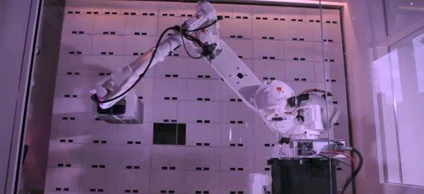 Yobot : le robot qui consigne vos bagages à l'hôtel