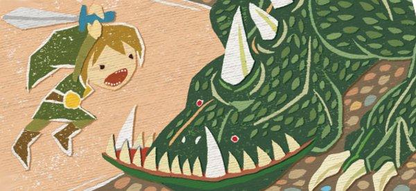 Zelda : De magnifiques dessins illustrant Ocarina of Time comme un conte de fée