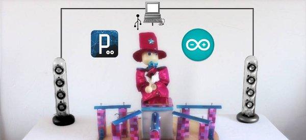 L'A.M.I  Zebulon, une automate musical interactif piloté par Arduino