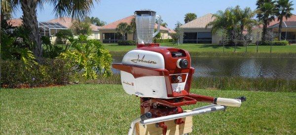 DIY : Fabriquer un Blender avec un moteur de bateau hors-bord