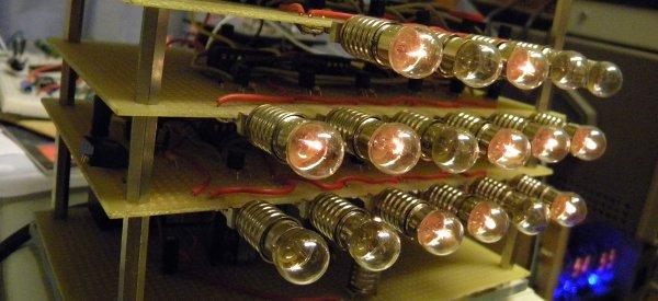 DIY : Fabriquer une horloge binaire à ampoules incandescentes