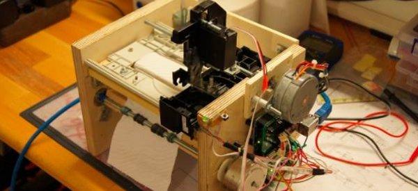 DIY : Recycler des vieux lecteurs CD Rom en imprimantes à papier toilette