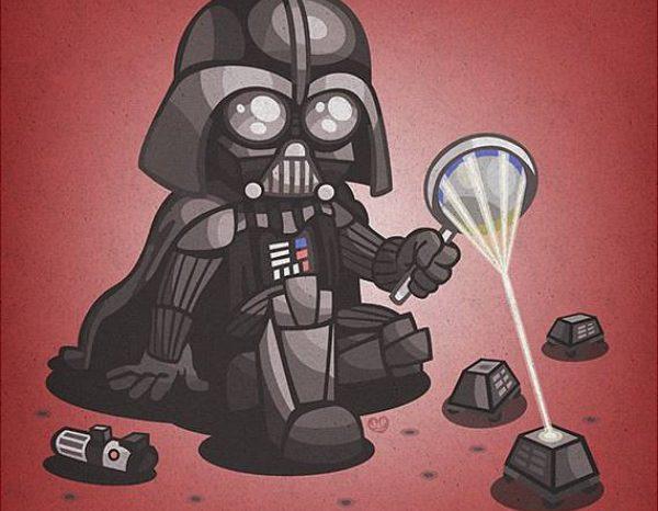 Images : Une version des personnages de Star Wars en version bébé