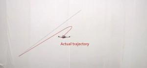 Les quadrocopteres autonomes qui apprenent à suivre une trajectoire par l'erreur