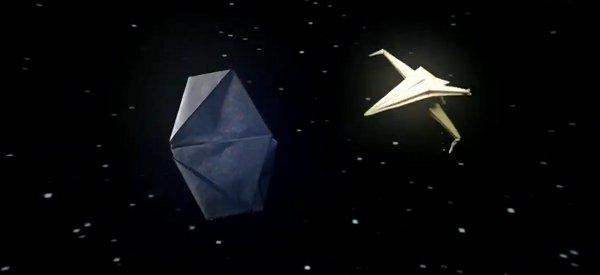 Star Wars : La bataille intersidérale en Origami