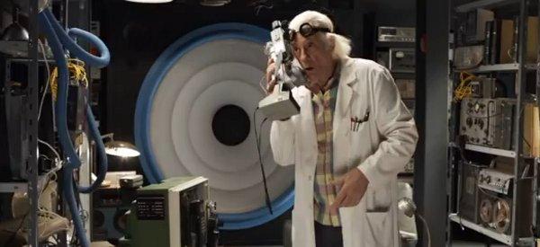 Vidéo : Une nouvelle publicité avec le Doc de « Retour vers le futur » pour Garbarino