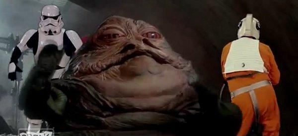 Clip : Moves Like Jabba, une parodie de Maroon 5 à la sauce Star Wars