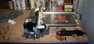 DIY : Transformer une imprimante papier pour tracer les typons sur circuits imprimés