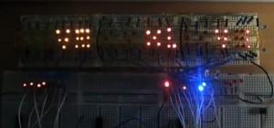 DIY : Une horloge Romaine numérique entièrement réalisé avec des circuits TTL 74XX