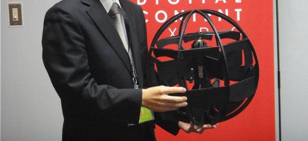 Une nouvelle vidéo du drone sphérique du Ministère de la Défense Japonais