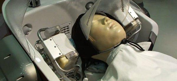 Une nouvelle vidéo du robot Panasonic qui vous fait un shampoing
