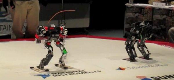 Vidéo : Finale du combat de robots de ROBO-ONE 19
