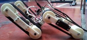 4Track : Un robot à 4 chenilles mobiles réalisé avec une imprimante 3D