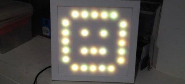 DIY : Transformer une guirlande de Noel à LED en afficheur matriciel
