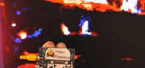 DIY : Transformer votre écran télé en cheminée numérique pour Noël