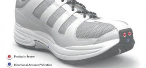 Le Chal : Une paire de chaussures haptique pour guider les malvoyants