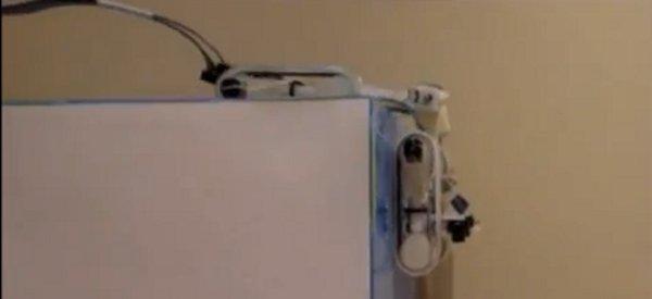 Le robot qui grimpe au mur sur le modèle animal du Gecko