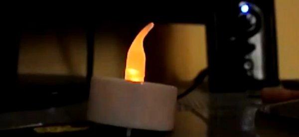DIY : Comment rendre plus réaliste une bougie électronique