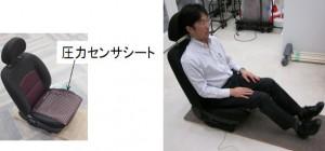 Innovation : Le siège auto anti-vol qui identifie votre arrière-train.