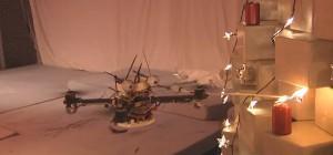 Juliet's Christmas Tree : Les Quadrotors font leur sapin de Noel