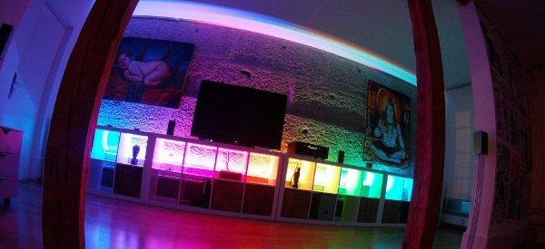 StripInvaders Light System : Un éclairage RGB modulaire controlé par un smartphone ou une tablette