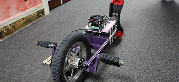 Un étudiant du MIT fabrique unicycle électrique qui stabilise automatiquement