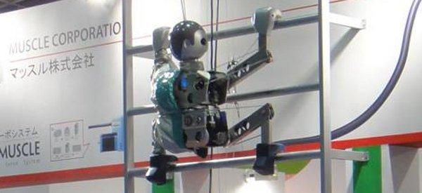 Vidéo : Un robot qui grimpe et descend les échelles