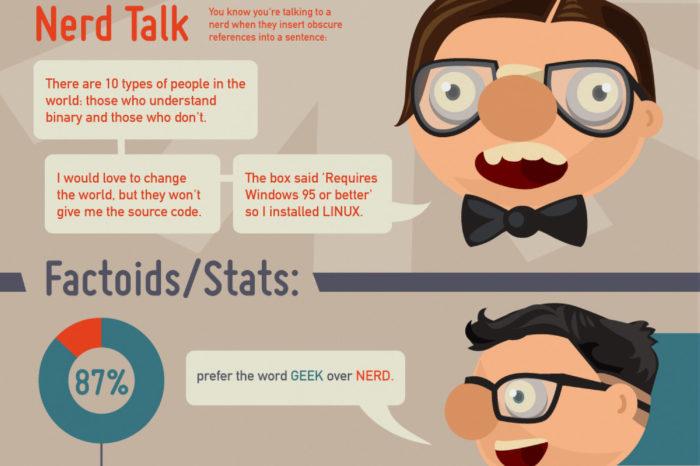 Geek VS Nerd : L'infographie pour les reconnaître...