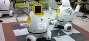 Vidéo : Deux robots oeufs qui dansent le Tango