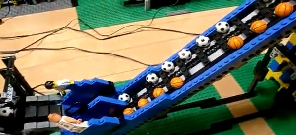 Video : Une incroyable machine de Great Ball Contraption en LEGO