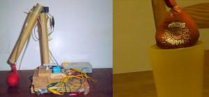 DIY : Fabriquer un bras robotisé doté d'un système d'agrippement avec un ballon et du café