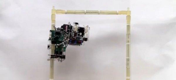 Un robot de construction impressionnant capable de se déplacer sur des structures modulaires