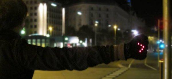 DIY : Des gants clignotants pour aider les cyclistes la nuit