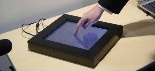 Innovation : Un écran tactile avec retour de force directionnel
