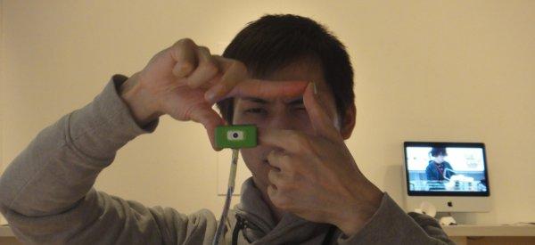 Ubi-Camera : Un objet pour prendre une photo avec ses doigts