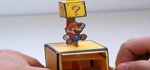 DIY : Fabriquer un automate Mario Bros en papier