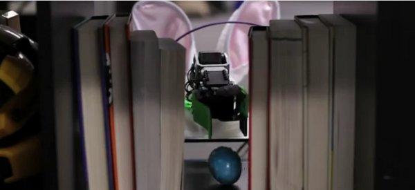 Quand les robots joue aussi à chercher les oeufs de Pâques...