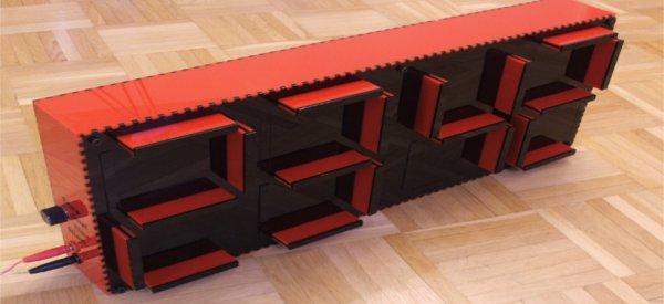 SevenBlocks - Un hommage à l'afficheur 7 segments