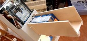 Un chargeur automatique de disquettes pour les archiver sur disque dur