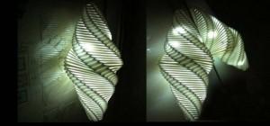 Une lampe imprimée en 3D qui produit sa propre énergie