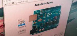 ArduGate : Piloter un Arduino facilement à partir de son navigateur Web