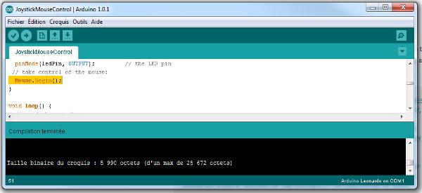 L'IDE Arduino passe en version 1.0.1 avec les support du Leonardo et l'ajout des traductions linguistiques.