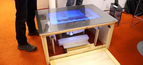 Playsurface : Une table basse sur le modèle de Microsoft Surface à un prix accessible